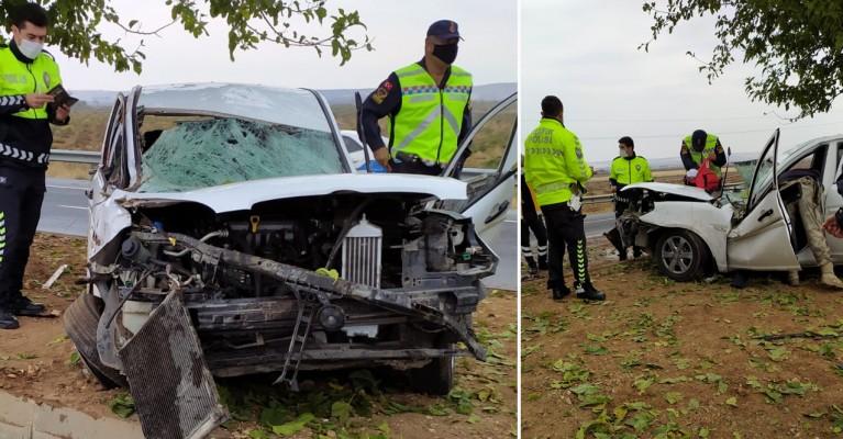 Şanlıurfa'da kaza! Yaralı var