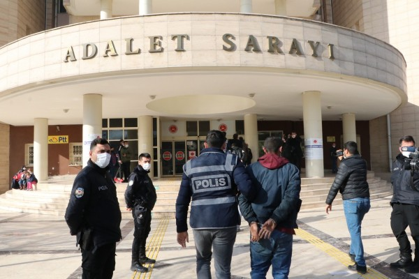 Şanlıurfa'da kombi hırsızı 2 kişi tutuklandı