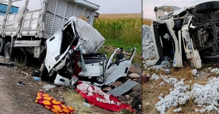 Şanlıurfa'da korkunç kaza! Ölü ve yaralılar var