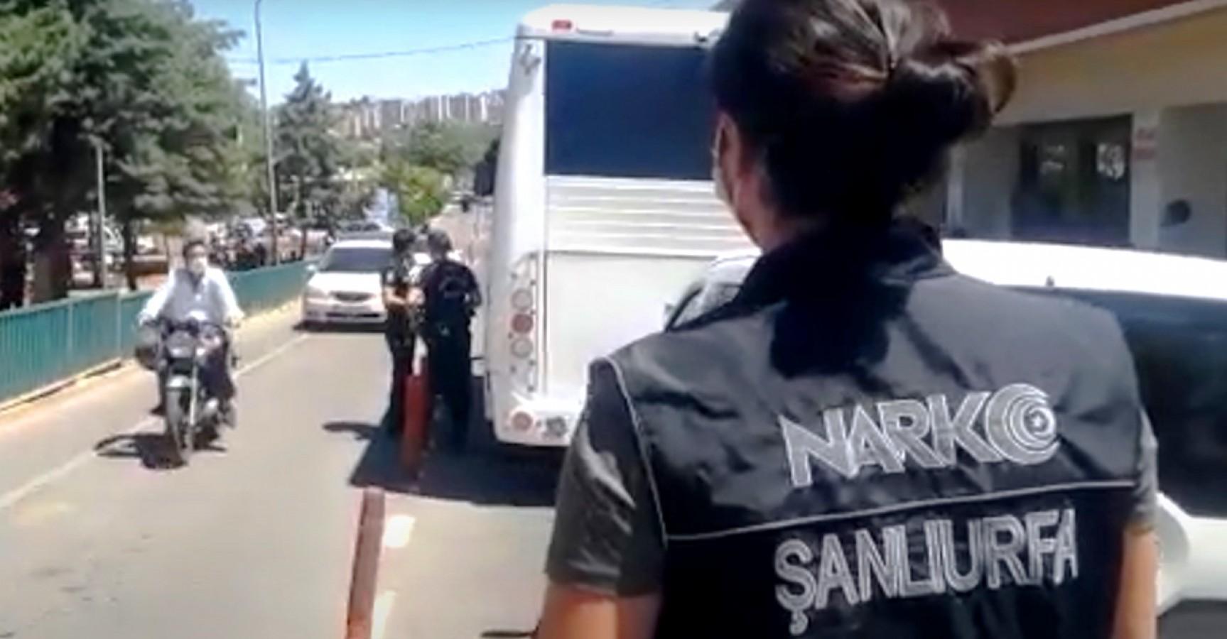 """Şanlıurfa'da """"torbacı"""" operasyonu: 4 gözaltı"""