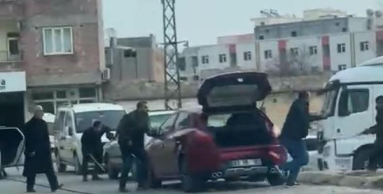 Şanlıurfa'daki silahlı kavgaya ait yeni görüntüler çıktı