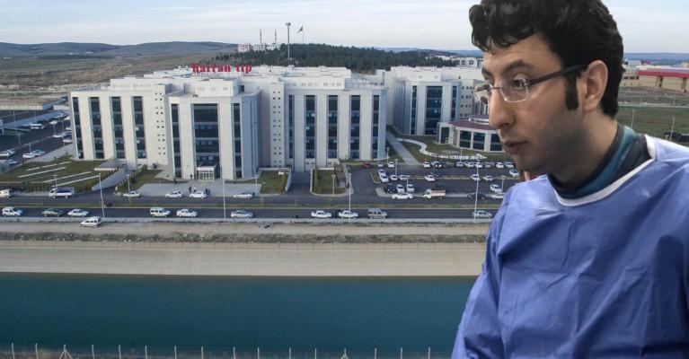 Şanlıurfa'da başarılı doktor kentten ayrıldı