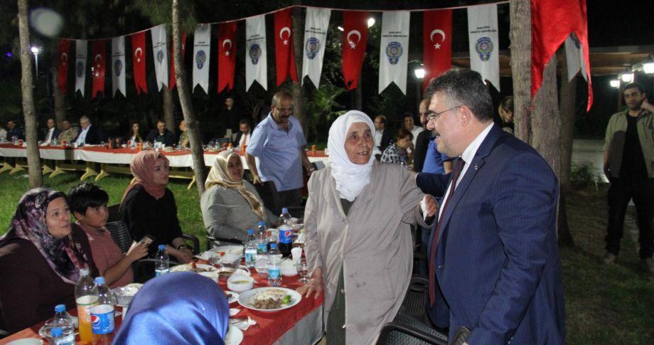 Şanlıurfa Emniyeti Şehit ve Gazi Aileleri ile İftar programında buluştu.
