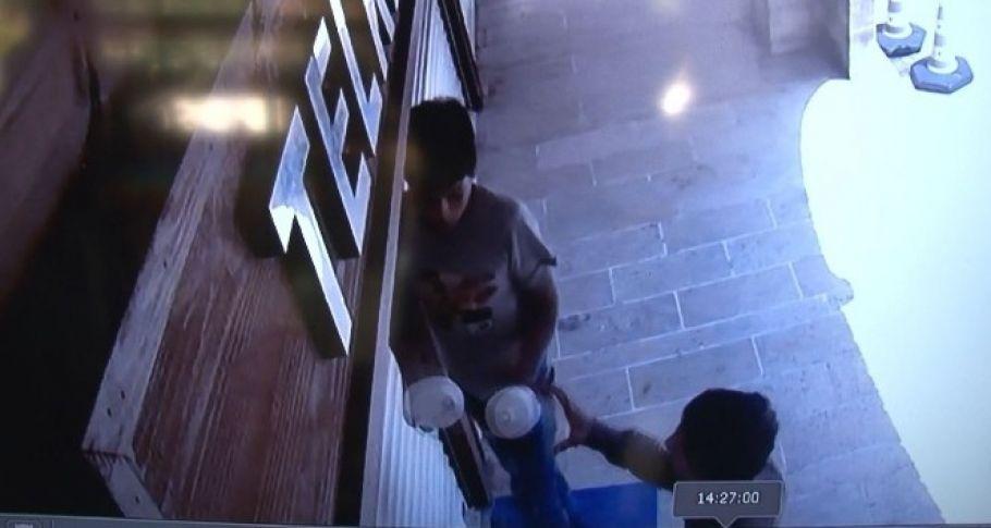 Şanlıurfa Esnafının korkulu rüyası ampul hırsızları kamerada