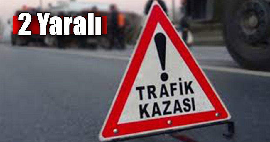 Şanlıurfa Gaziantep karayolunda trafik kazası!
