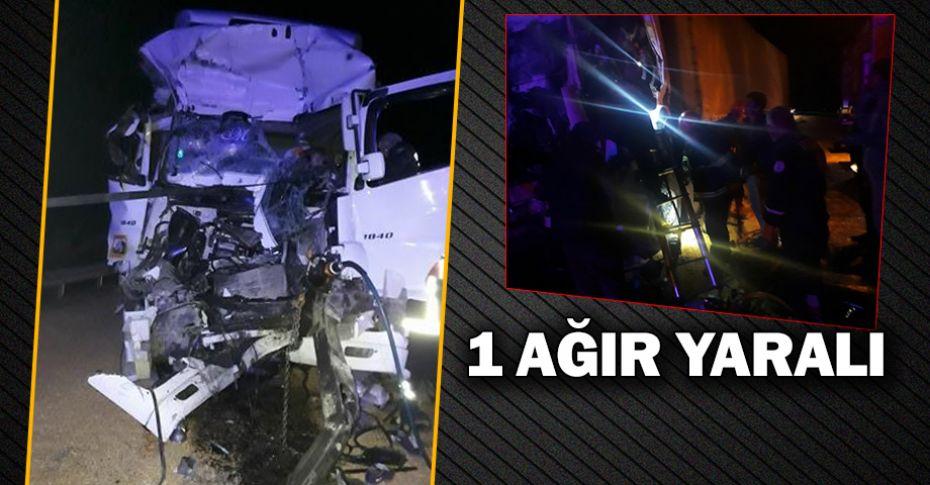 Şanlıurfa-Gaziantep yolunda trafik kazası!