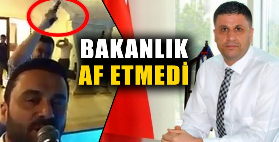 Şanlıurfa İl Gençlik Müdürü açığa alındı!