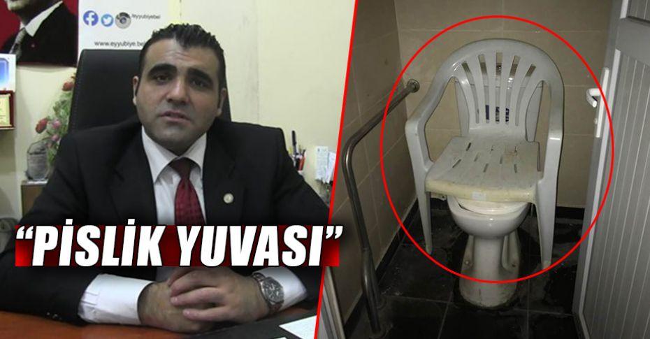 Şanlıurfa Maliye Müdürlüğü'nün engelli tuvaleti tepki topladı!