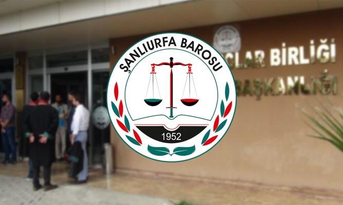 Şanlıurfa'nın da aralarında bulunduğu 70 baro saldırıya tepki gösterdi