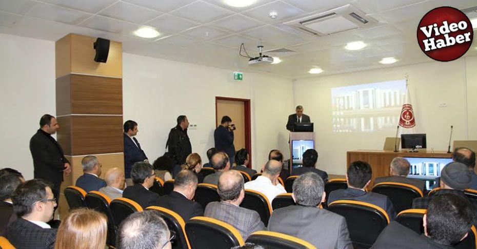 'Şanlıurfa Sağlığında Üniversite Hastanesinin Yeri' çalıştayı düzenlendi
