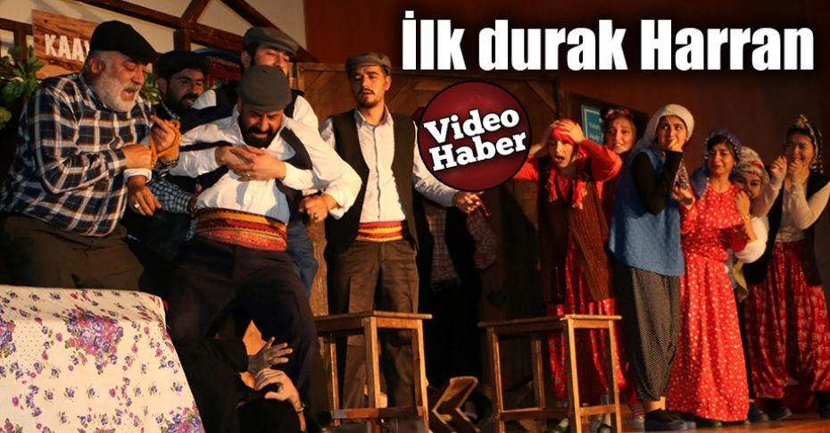 Şanlıurfa Şehir Tiyatrosu, turneye başladı