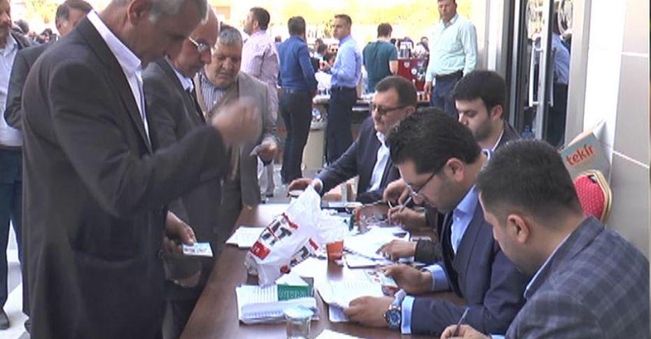 Şanlıurfa Ticaret Borsası'nda seçim heyecanı