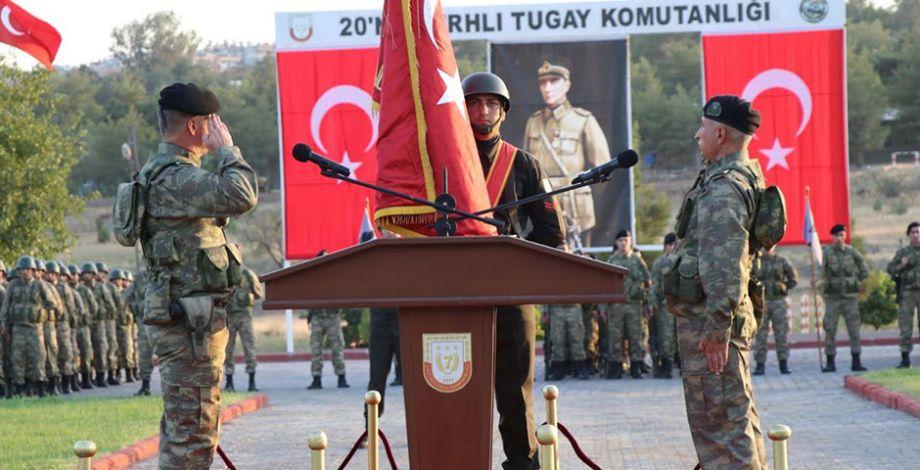 Şanlıurfa Tugay'da devir teslim töreni yapıldı