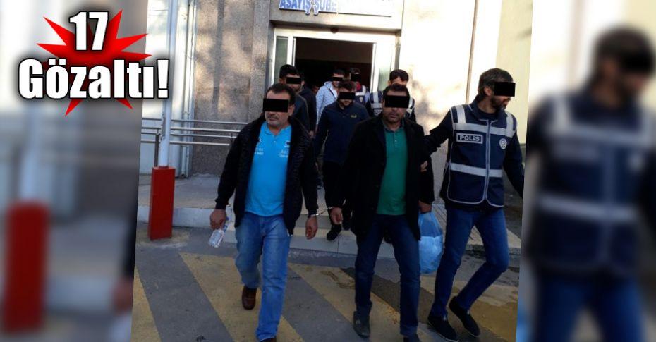 Şanlıurfa ve İzmir'de yapılan dev vurgunun zanlıları yakalandı