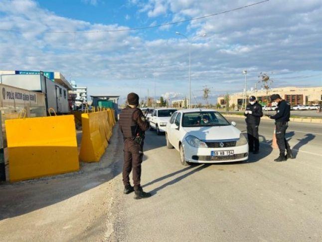 Şanlıurfa'da 179 kişi hakkında işlem yapıldı