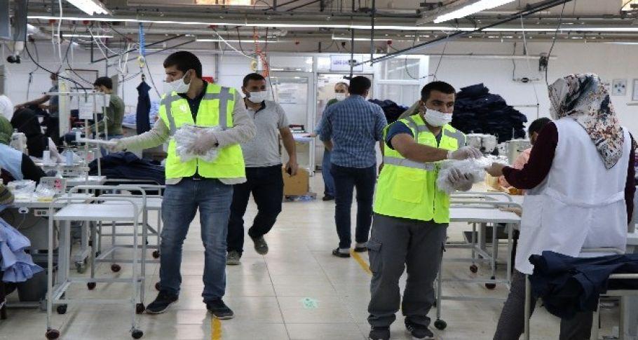 Şanlıurfa'da 1 milyon ücretsiz maske dağıtıldı