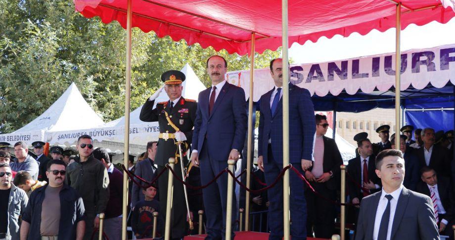 Şanlıurfa'da 29 Ekim Coşkusu