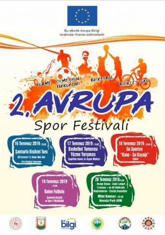 Şanlıurfa'da 2.Avrupa Spor Festivali Başlıyor