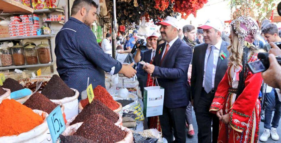 Şanlıurfa'da 2'nci İsot Festivali devam ediyor