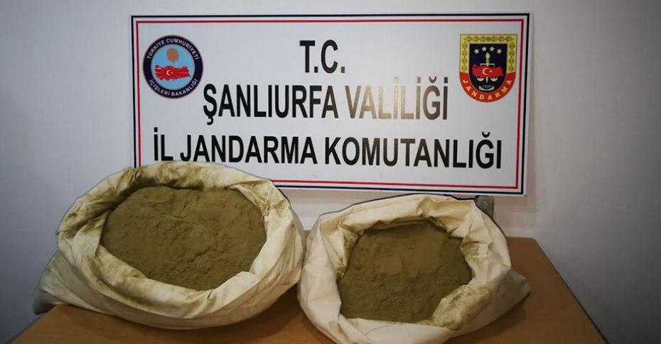 Şanlıurfa'da 400 bin tl değerinde esrar ele geçirildi!