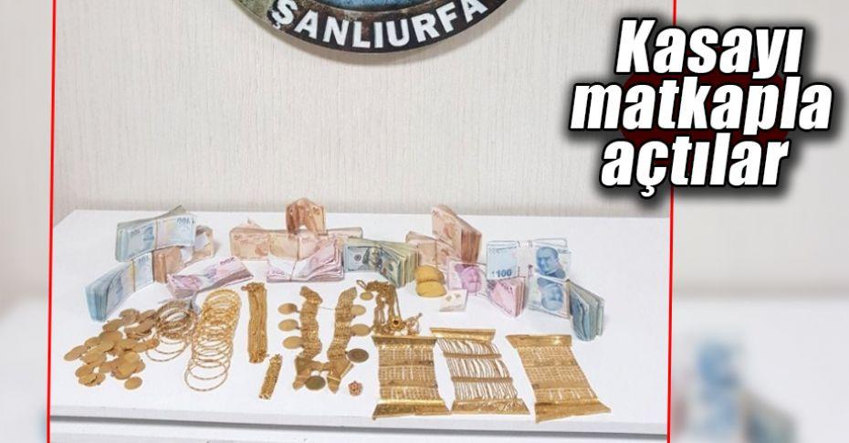 Şanlıurfa'da 470 bin liralık hırsızlık!