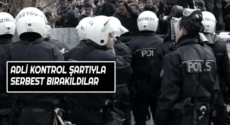 Şanlıurfa'da 5 polis serbest bırakıldı