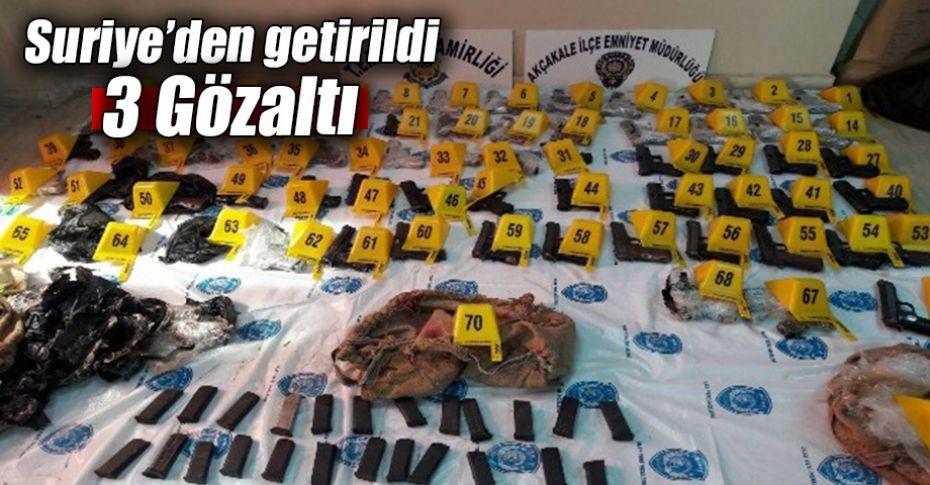 Şanlıurfa'da 69 kaçak silah ele geçirildi!