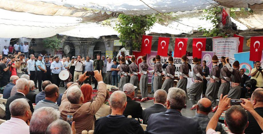 Şanlıurfa'da Ahilik Haftası Etkinlikleri başladı