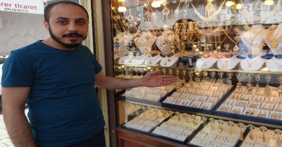 Şanlıurfa'da altınları çalan hırsız kayıplara karıştı