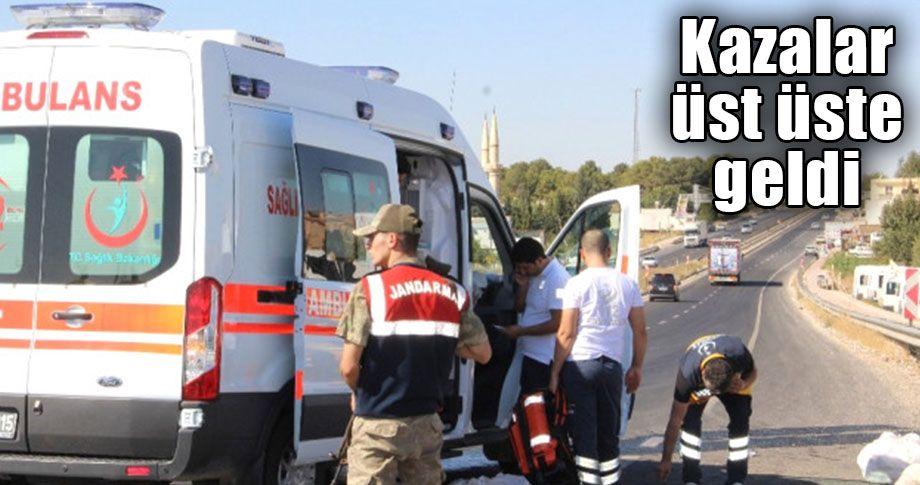 Şanlıurfa'da ambulans ile minibüs çarpıştı