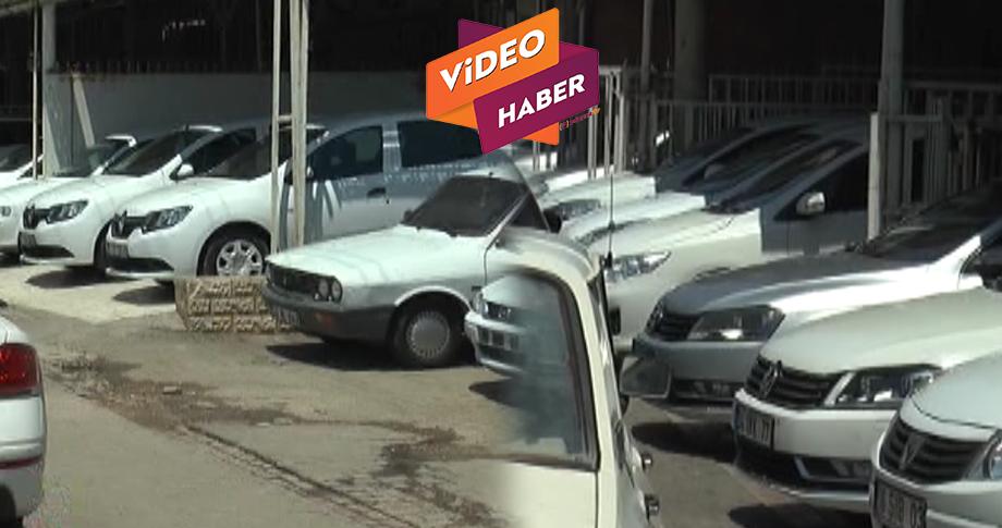 Şanlıurfa'da araç pazarı daraldı