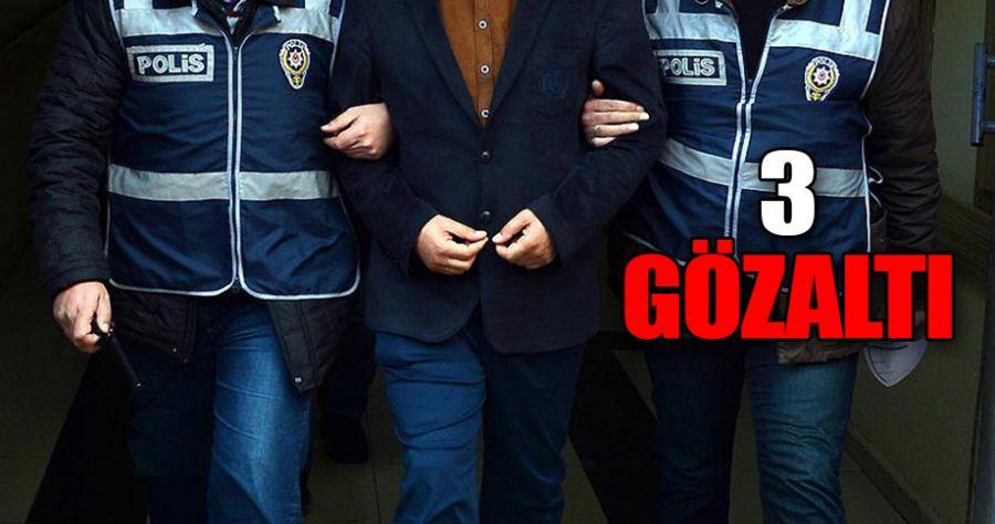Şanlıurfa'da aranan 3 zanlı Kilis'te yakalandı