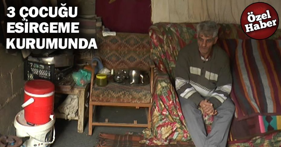 Şanlıurfa'da bir babanın tek göz odadaki yaşam mücadelesi