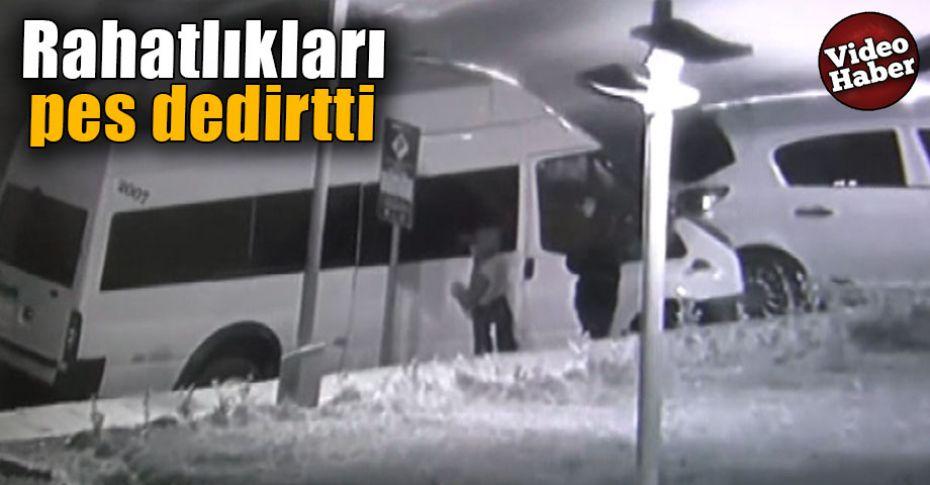 Şanlıurfa'da çocuk yaştaki üç hırsız böyle görüntülendi!