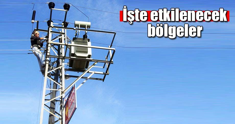 Şanlıurfa'da elektrik kesintisi yaşanacak!