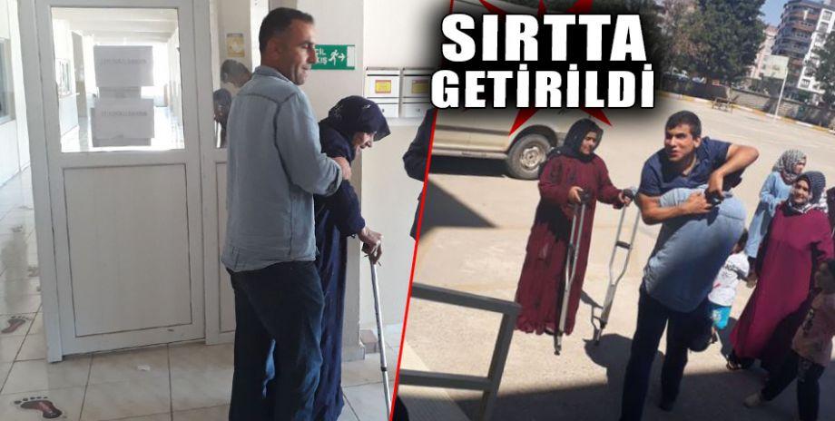 Şanlıurfa'da engelli vatandaşlar sandık başında