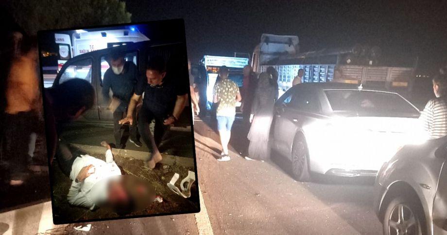 Şanlıurfa'da feci kaza! 1 ölü 6 yaralı