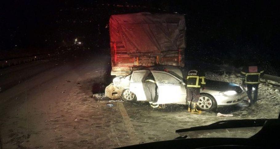 Şanlıurfa'da  Feci Kaza: 3 ölü, 1 yaralı