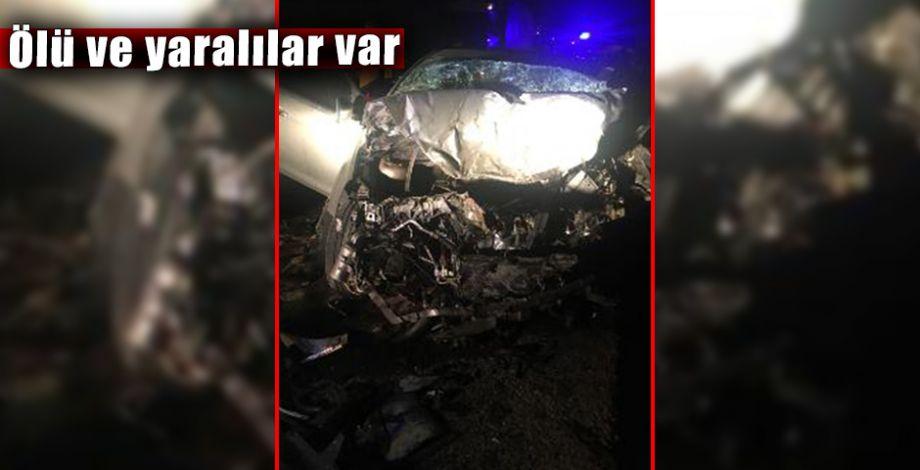 Şanlıurfa'da gece saatlerinde feci kaza!