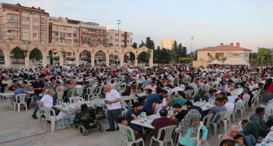 Şanlıurfa'da Halil İbrahim Sofrası geleneği