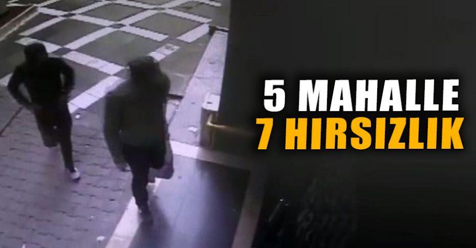 Şanlıurfa'da hırszılar güvenlik kamerasına takıldı