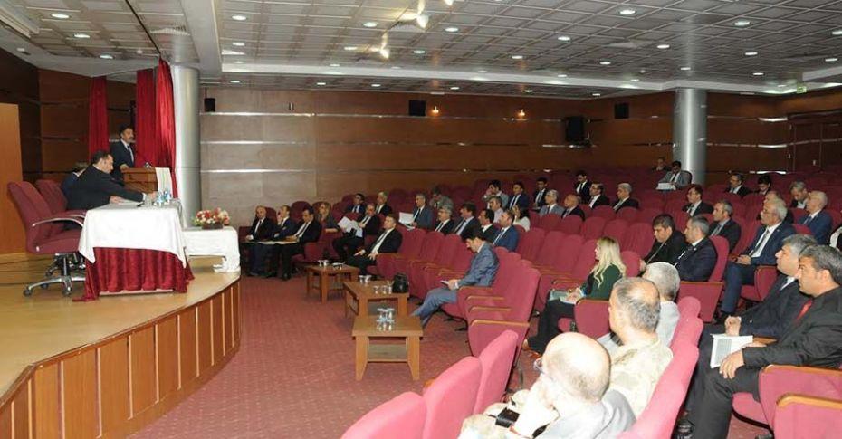 Şanlıurfa'da İl Koordinasyon Kurulu Toplantısı yapıldı