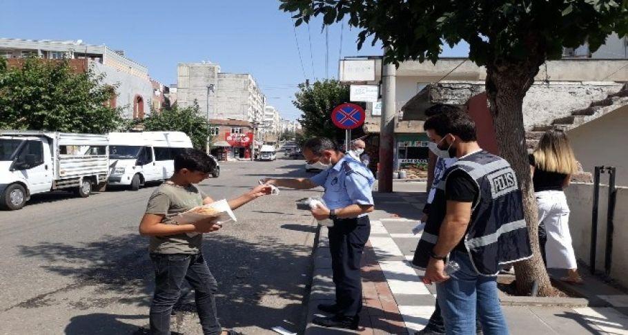 Şanlıurfa'da karantina kurallarına uymayan 8 kişiye 22 bin 200 TL ceza