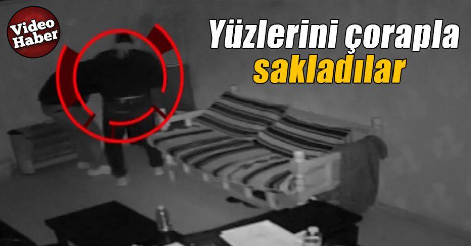 Şanlıurfa'da kasa hırsızlığı kameralara yansıdı