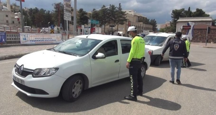 Şanlıurfa'da kısıtlamayı ihlal eden 431 kişiye ceza