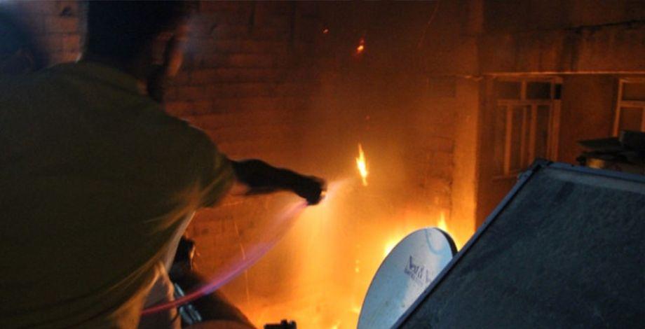 Şanlıurfa'da korkutan yangın!