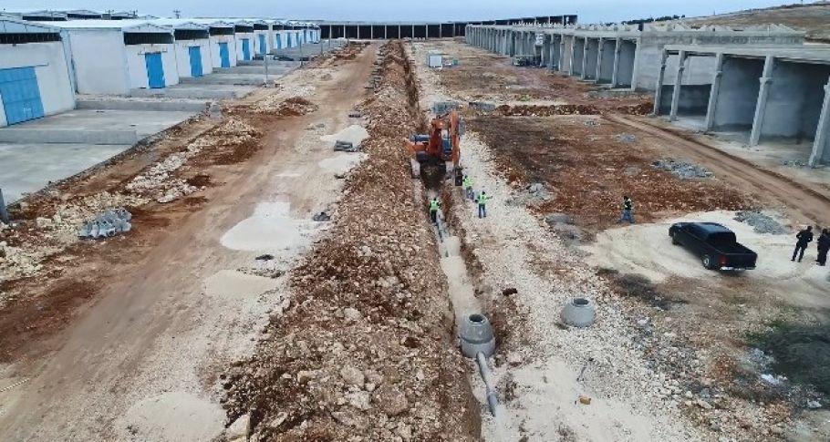 Şanlıurfa'da Küçük Sanayi Sitelerinin alt yapısı tamamlandı (videolu)