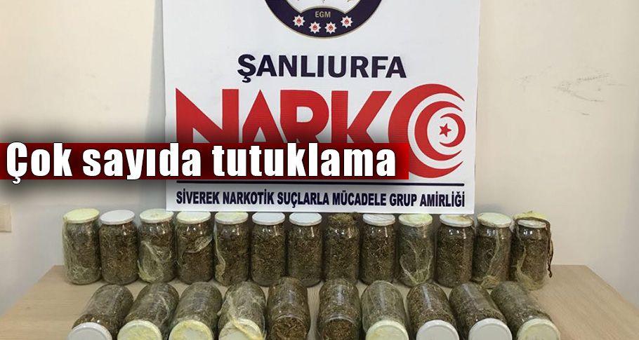 Şanlıurfa'da Mayıs Ayı uyuşturucu bilançosu açıklandı!