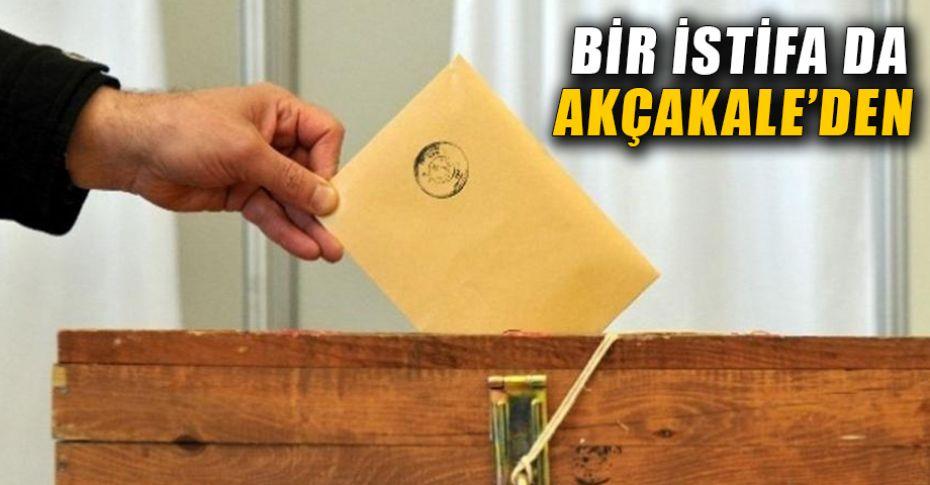 Şanlıurfa'da milletvekilliği için istifalar devam ediyor!