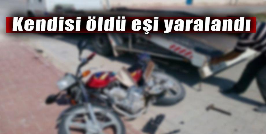Şanlıurfa'da motosiklet kazası can aldı!